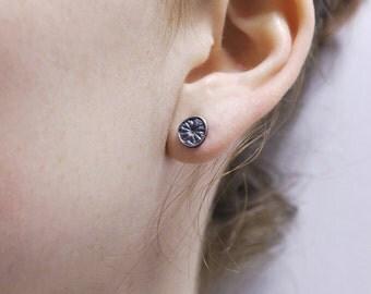 """Fine Silver earrings """"poppy"""""""