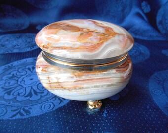 Italian Onyx trinket box