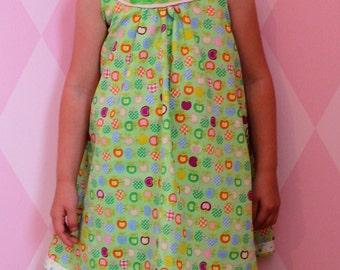Dress, summer dress, beach dress, size 104