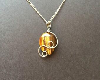 Tiger Eye Necklace