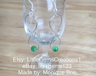 wire worked earrings New HandMade FREE SHIPPING dangle Fashion jewelry