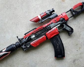 Red nerf shark mouth modulos