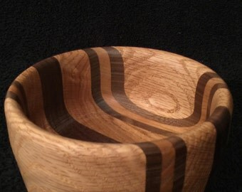 Hand Turned Wood Bowl