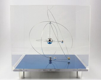 Vintage Space Age Japanese Jeco Solar System Clock