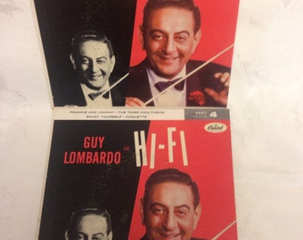 Guy Lombardo 2 records 45 rpm