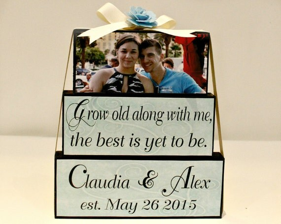 Unique Wedding Gifts Canada : ... Gift - Wedding Blocks Sign - Personalized Wedding Gifts Canada