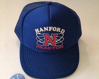 Hanford N Reactor 80's hat Nuclear power plant