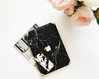 Black Marble Macbook Case Macbook Case Macbook Pro Case Macbook Air Case Macbook Hard Case Marble Macbook Air 13 Case Gift For Her