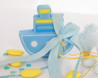 50 Boat favors SOAP favors Boy baptism favors BOAT soap bomboniere greek baby boy baptism favors ideas baby boy shower guests gift party