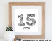 Fifteenth Wedding Anniversary Gifts – Lamoureph Blog