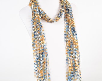 Cascading Falls Scarf - Sunny Skies