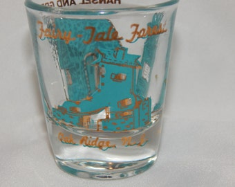 Vintage  Fairy Tale Forest Shot Glass