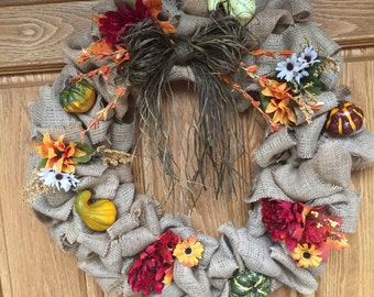 Autumn Bounty Wreath