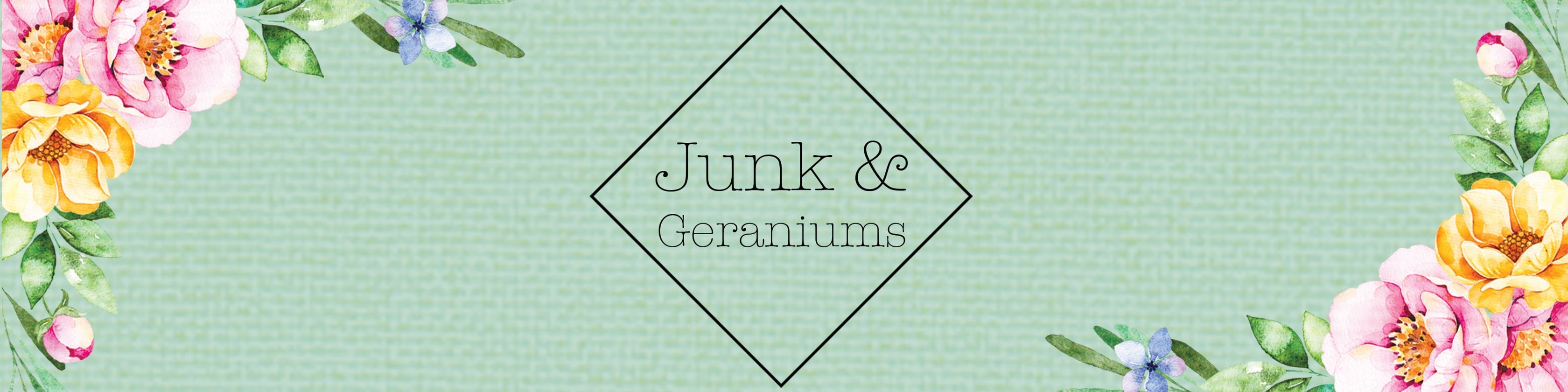 Junk & Geraniums on Etsy