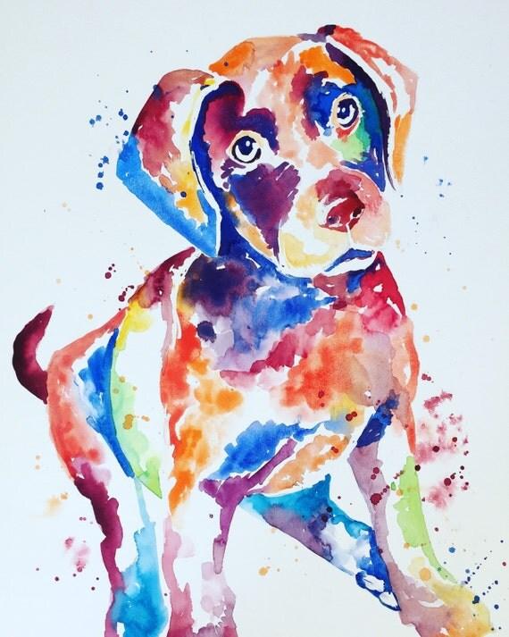 Dog Painting- Custom Original Painting