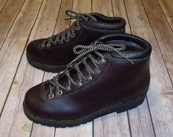 VTG Fabiano Mountaineering Boots LADIES 7.5 UNWORN Condition