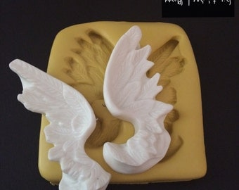 Large Wings Silicone Mold
