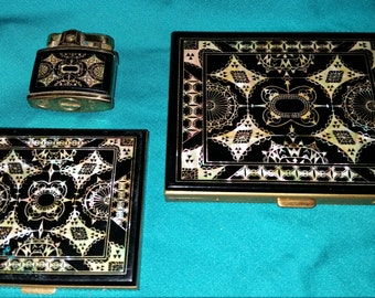 Marhill mother of pearl set NOW 10% off