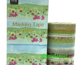 Washi Tape 1.5cmx3mx4 MoMo SM343120