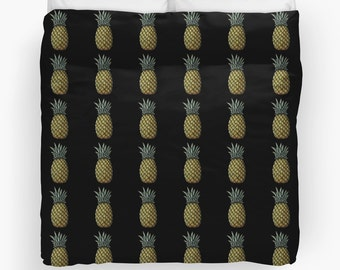PINEAPPLES Duvet Cover     Twin/Queen/King  Bedroom Bed Home Decor