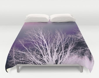 LAVENDER BRANCHES  Duvet Cover Double/Full-Queen-King