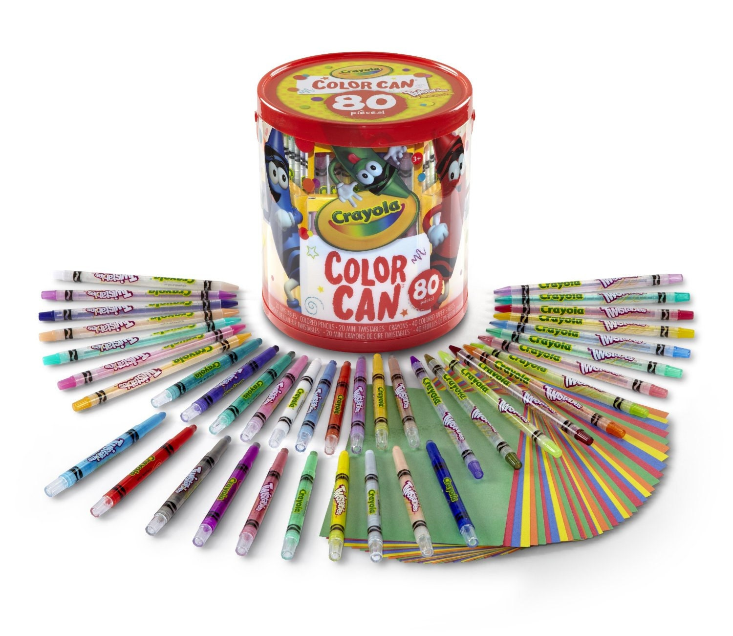 20 Crayola Twistables Colored Pencils Mini Crayons
