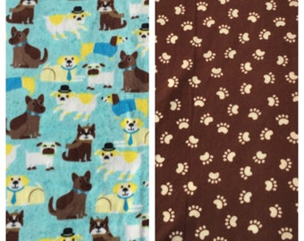 Fleece Medium Dog Blanket(D270)
