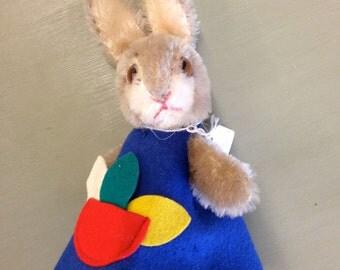 Vintage Steiff Hide-a-Gift Bunny
