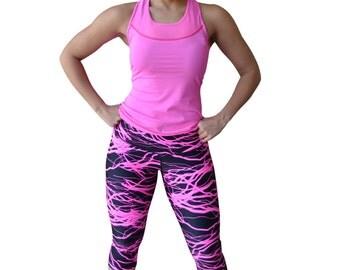 Pink Thunder Leggings