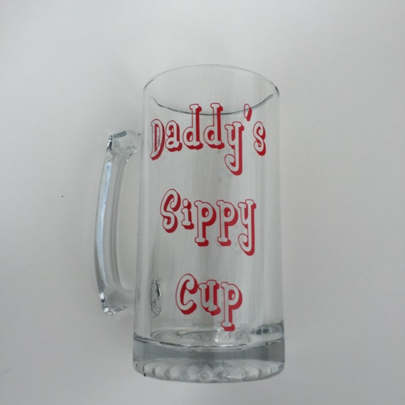 Custom Beer Mug - Father's Day Gift - happy father day - gift ideas for dad  - cool dads day gifts - Cool Dad Gift - Best Adult Sippy Cup