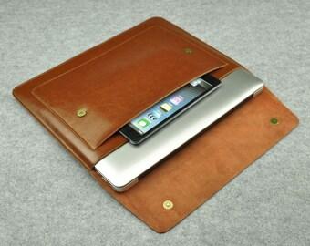 Leather Macbook Sleeve Macbook Case Macbook Cover Leather  New Macbook Pro Case 15inch Macbook Air Sleeve 13inch 2017 Macbook Pro 13 Case