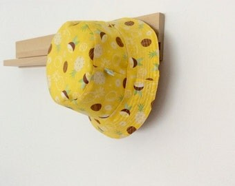 Scented Pineapple Baby and Childrens Summer Bucket Hat