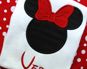 Minnie Mouse Disney Shirt, Minnie Mouse Birthday Shirt