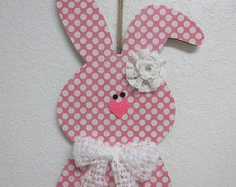 Easter Decor-Spring Decor Easter Bunny Door Decor