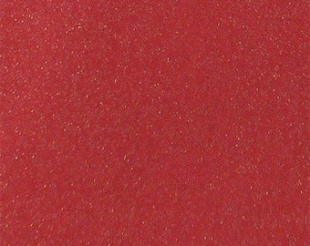 Christmas Fabric, Red Glitter Fabric, Christmas Stocking Fabric, Apparel/Quilting/Diy/Home Decor/Sewing, Fabric By Half Yard