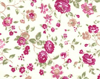 Quilters First Collection Antique Rose Cotton Quilting Fabric - Lecien #30262-10 listing is for 1 Yard - FM