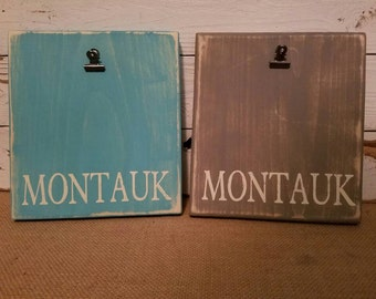 MONTAUK picture frame with bulldog clip