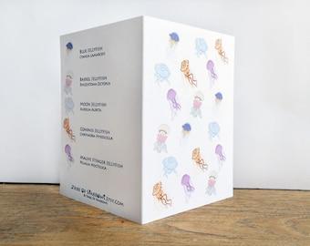 Bloom of Jellyfish Card