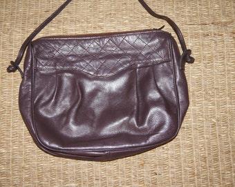 Vintage 1980's - European  Bridas Purse - Spanish leather - brown -