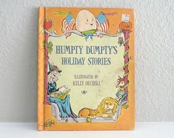 Humpty Dumpty's Holiday Stories Vintage Children's Book