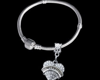 Confirmation Bracelet  Confirmation charm bracelet  Special Confirmation gift  Lowest price confirmation gift