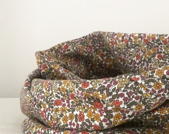 Liberty Infinity Scarf in Cotton Jersey