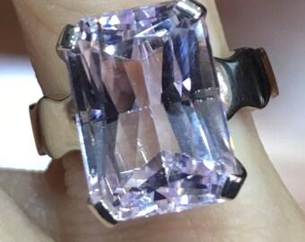 Kunzite Ring  Light color Silver 925 item535