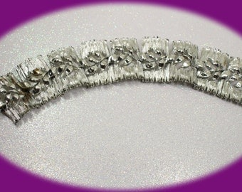 Vintage Bracelet Lisner Silver Bracelet Silver Tone Chunky Bracelet Silver Bracelet Vintage Bracelet