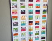 Soarin' Quilt,Baby Quilt Pattern, Easy Beginner Pattern, Charm Pack quilt, crib quilt, PDF Quilt Pattern, Digital Quilt Pattern, baby shower