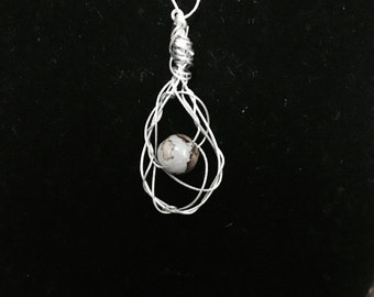 Weaved Wire Necklace