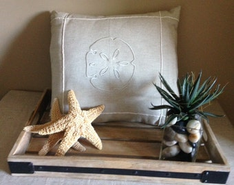 Sand and Sea theme pillow coverings