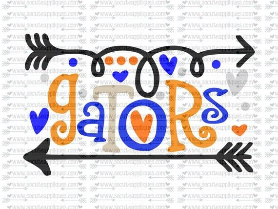 Gators Fun Arrows Svg Socuteappliques Svg Sayings