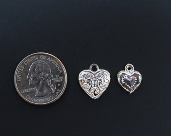 Heart add-on charms