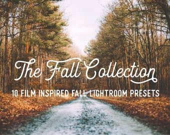 2016 Fall Collection 10 Adobe Lightroom Film Inspired Presets